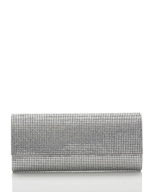 Judith Leiber Couture   Silver Ritz Fizz Crystal Clutch Bag   Lyst