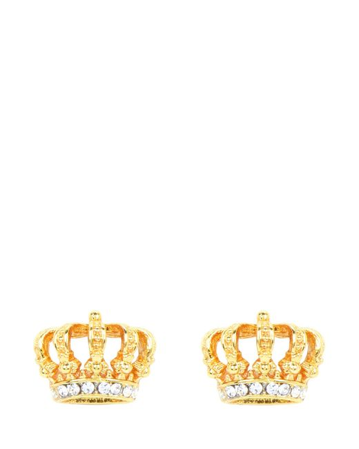 Juicy Couture | Metallic Royal Crown Stud Earrings | Lyst