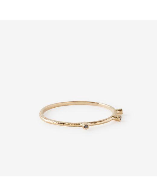 Satomi Kawakita   Yellow Tri Black Diamond Ring   Lyst