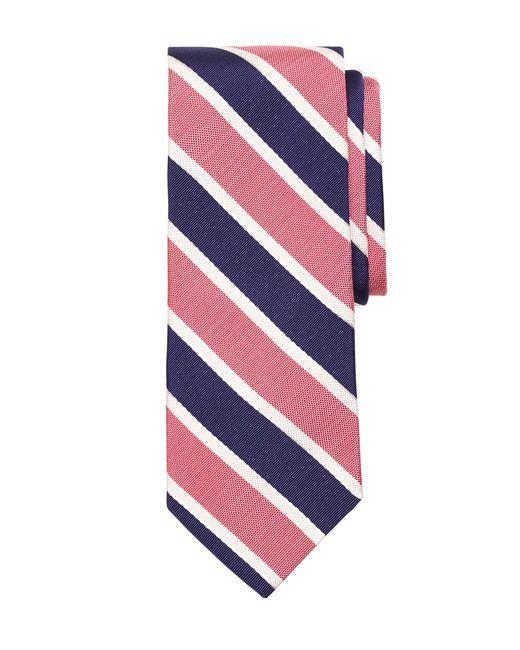 Brooks Brothers | Pink Framed Mogador Stripe Tie for Men | Lyst
