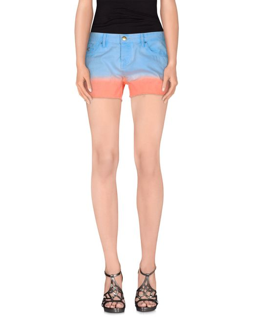 Maison Scotch | Blue Denim Shorts | Lyst