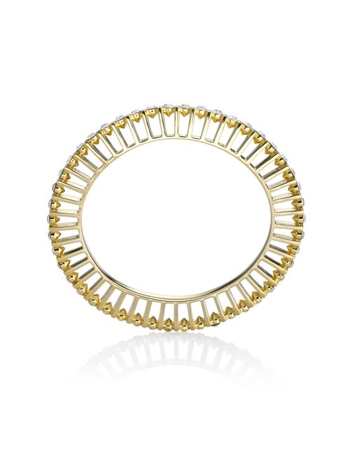 Yael Salomon | Metallic Ella 10 Gold And Crystal Bangle | Lyst