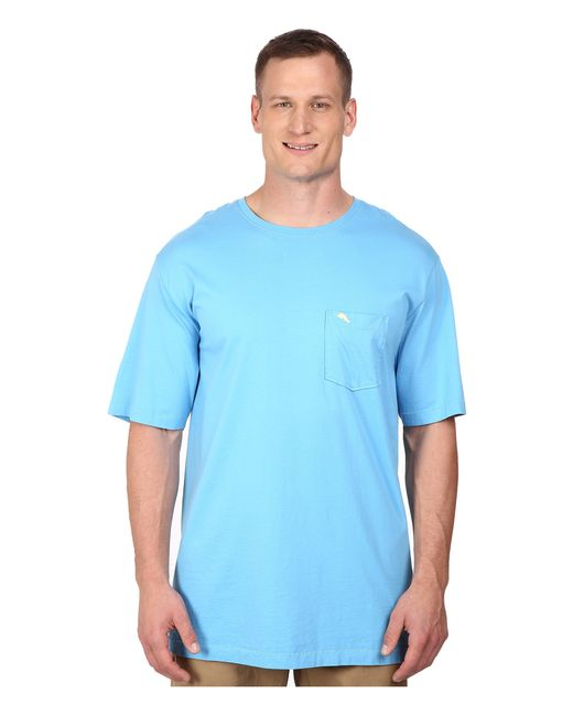 Tommy bahama big tall new bali sky in blue for men lyst for Tommy bahama florida shirt