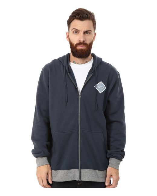 RVCA   Blue Matchbook Fleece for Men   Lyst