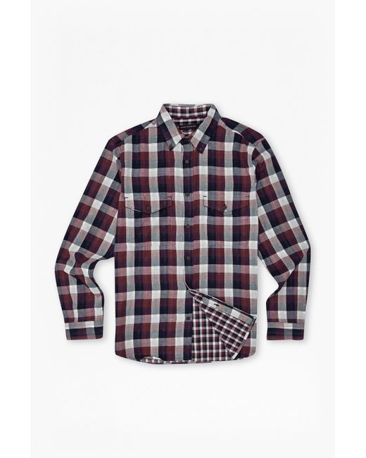 French Connection | Gray Wilton Country Plaid Shirt for Men | Lyst