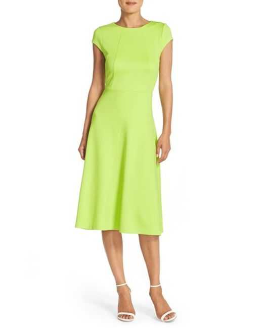 pleated midi dress pleated dresses online green pleated dress. Lime Pleated Shift Dress Move-easy pleats, a fresh hue, and comfort-fit fall make the Lime Pleated Shift Dress a closet need-now. Take it to work with white block heels and to the weekend with minimal gold jewellery. - .
