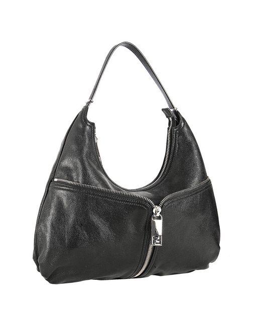 Fendi | Black Micro 'baguette' Crossbody Bag | Lyst