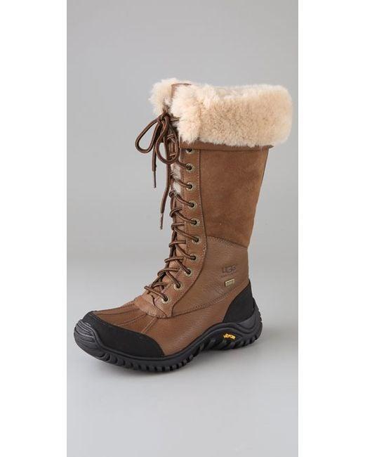 Ugg   Brown Ugg Adirondack Tall Boot   Lyst
