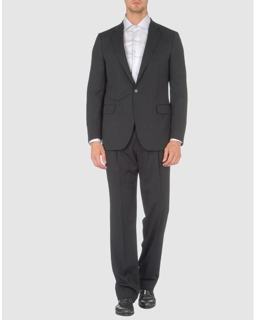 Lardini | Gray Suit for Men | Lyst
