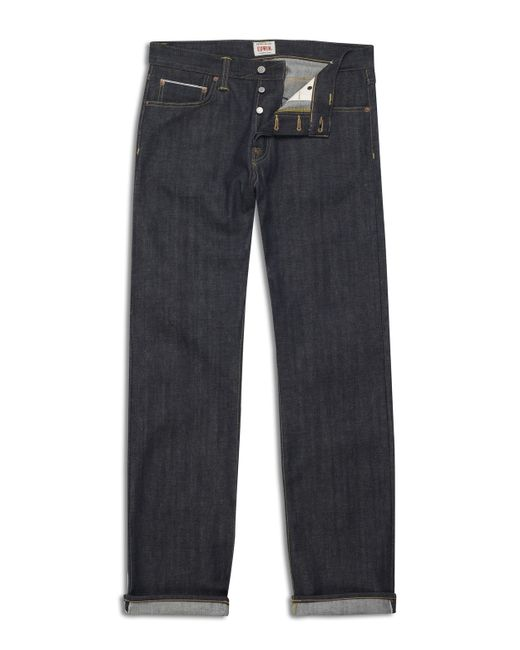 Edwin | Blue Ed-55 Red Selvage Denim Jeans for Men | Lyst