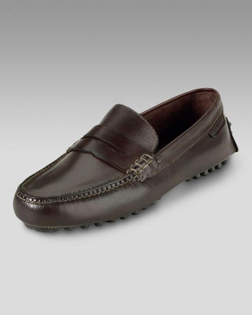 Cole Haan   Air Grant Penny Driver, Dark Brown for Men   Lyst