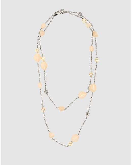 Isaac Mizrahi New York   Silver Necklace   Lyst