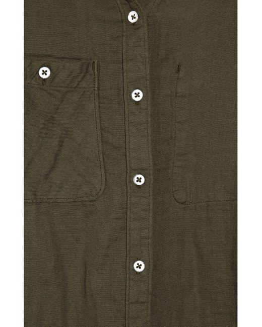 Rag & Bone   Tomboy Shirt - Army Green   Lyst