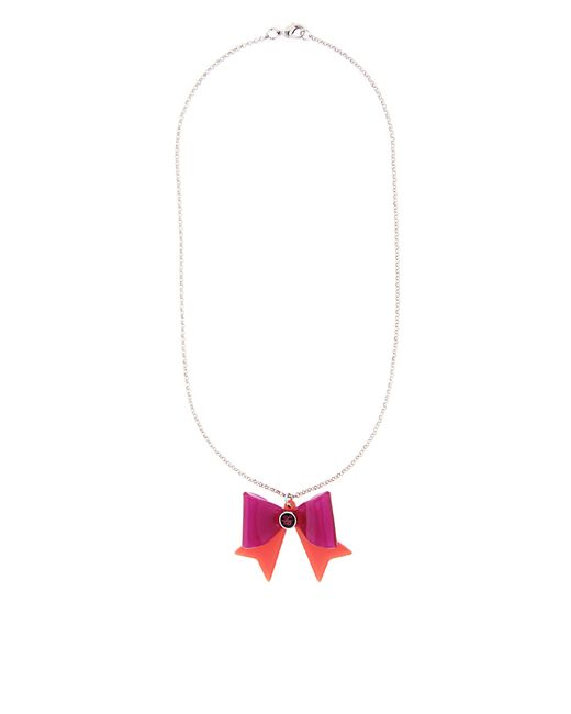 Ted Baker | Multicolor Hara Rose Gold Tiny Heart Pendant | Lyst