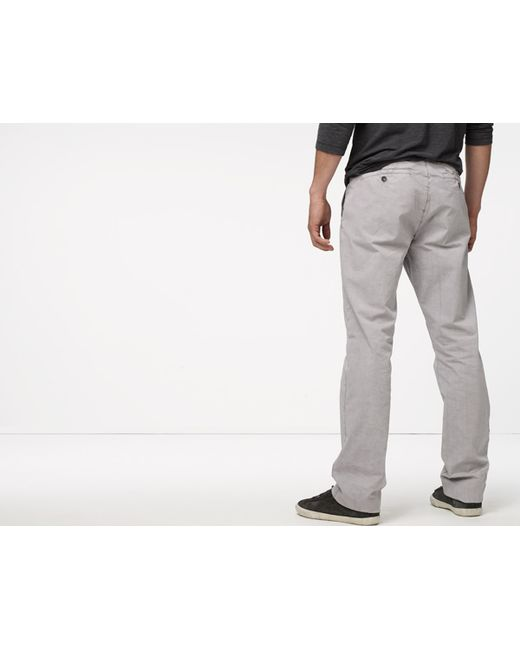 James Perse | Gray Clean Chino for Men | Lyst