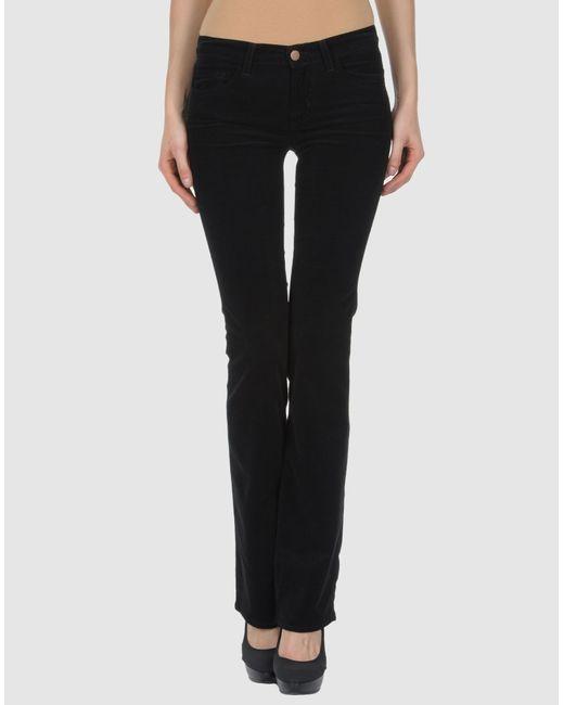 J Brand | Black Casual Trouser | Lyst