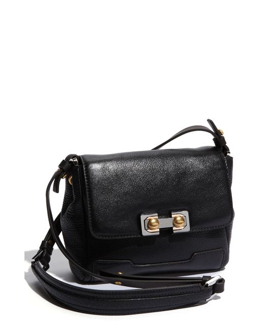 Marc By Marc Jacobs | Black Mini Natasha Leather Cross-Body Bag | Lyst