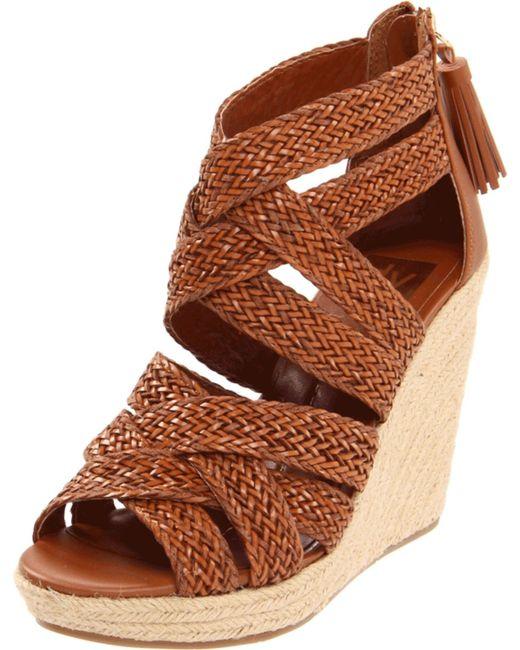 Dv Dolce Vita Tulle Espadrille Wedge Sandals: Dolce Vita Brooks Clog In Brown (BRANDY LEATHER)