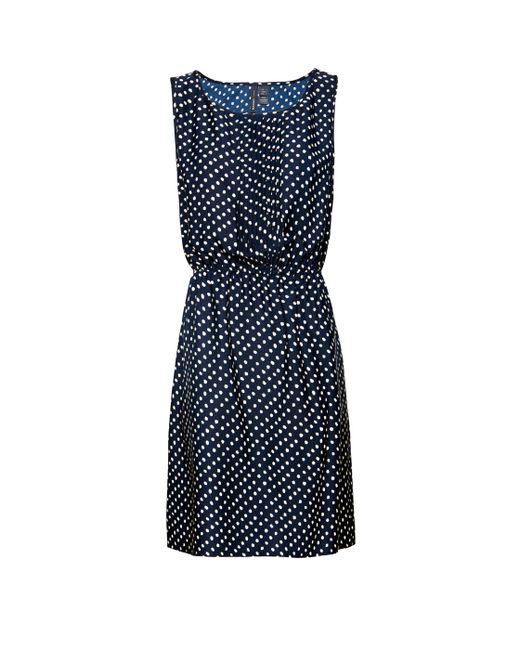 Mango | Natural Pin Tuck Dress | Lyst