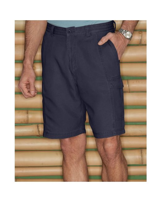 Tommy Bahama | Blue 'key Grip' Relaxed Fit Cargo Shorts for Men | Lyst