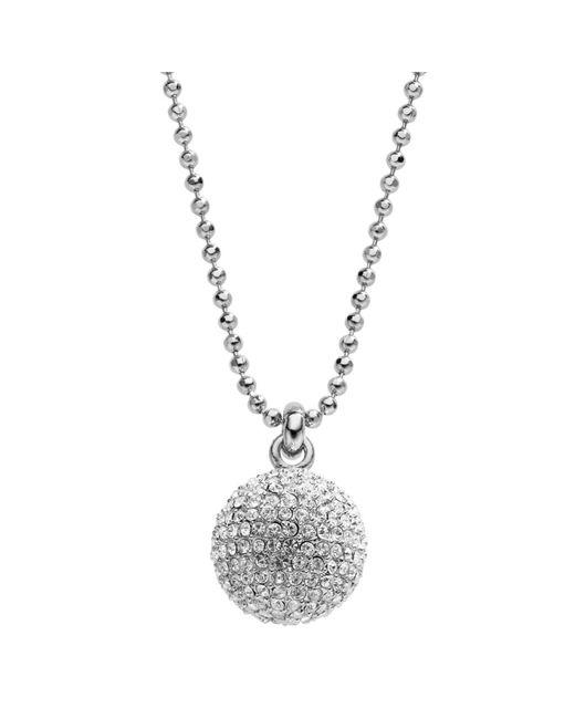 Michael Kors | Metallic Pave Fireball Necklace | Lyst