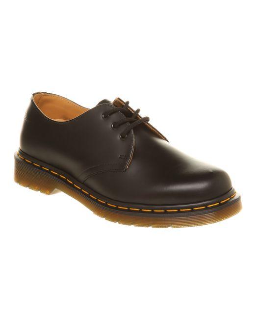 Dr. Martens | Black 3 Eyelet Shoes | Lyst