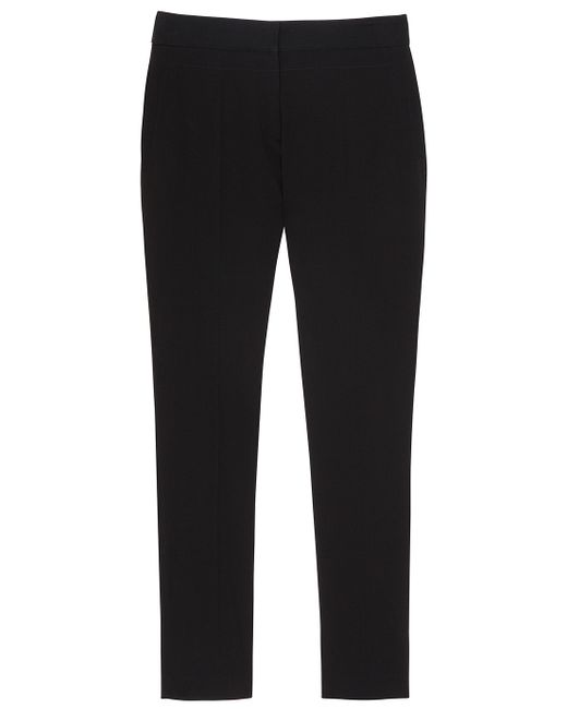 Proenza Schouler | Black Belted Crepe Trousers | Lyst