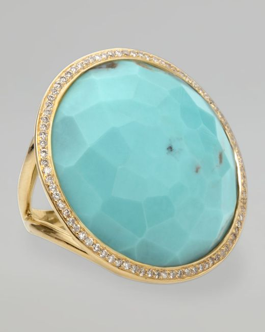 Ippolita | Blue Turquoise Lollipop Ring | Lyst