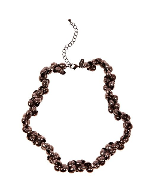 Coast | Brown Evie Plated Longline Necklace | Lyst