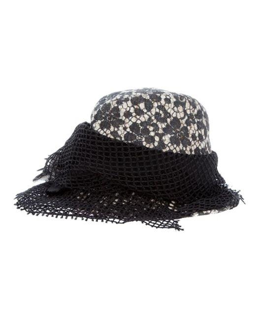 Dolce & Gabbana   Black Mesh Hat   Lyst