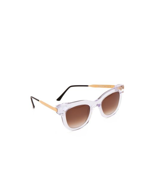 Thierry Lasry | Transparent Sexxxy Sunglasses | Lyst
