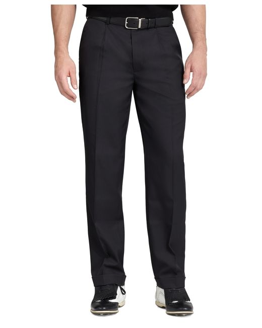 Brooks Brothers | Black St Andrews Links Pleat-front Pants for Men | Lyst