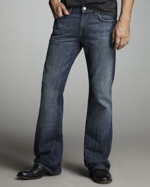 7 For All Mankind | Blue Apocket Boot Cut Nyd Jeans for Men | Lyst