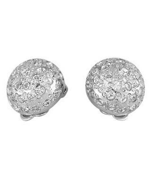 AZ Collection | Metallic Clip-on Earrings | Lyst