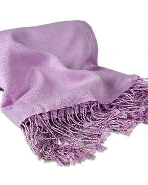 FORZIERI   Purple Lilac Pashmina Shawl   Lyst