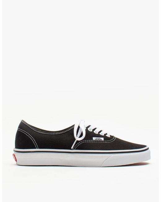 Vans | Authentic In Black for Men | Lyst