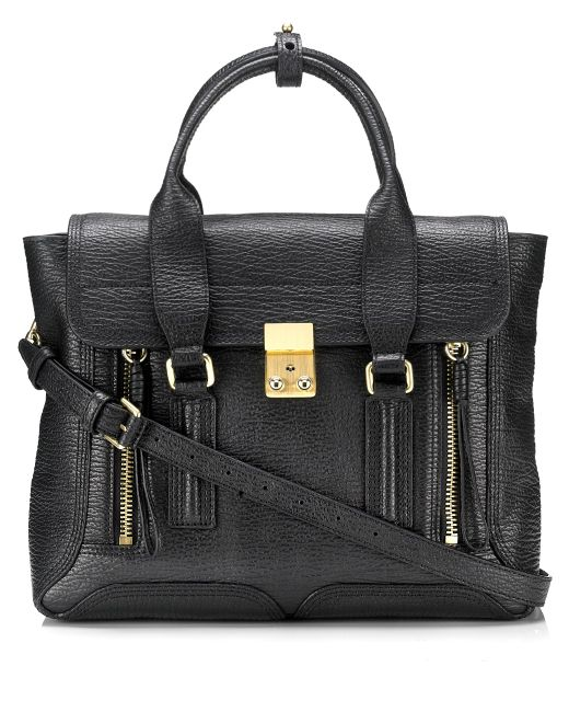 3.1 Phillip Lim | Black Pashli Mini Leather Shoulder Bag | Lyst