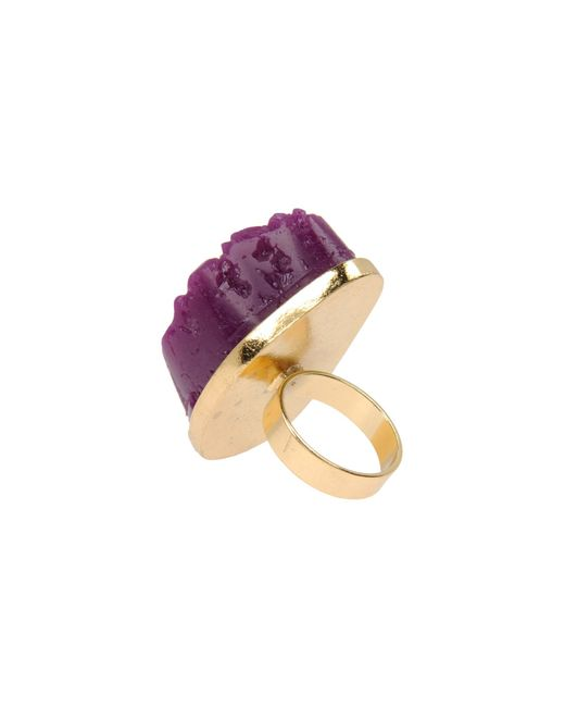 Pieces | Purple Ring | Lyst