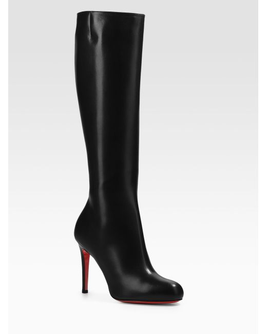 Christian Louboutin | Brown Simple Botta Kneehigh Boots | Lyst