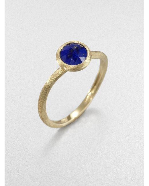 Marco Bicego | Metallic Jaipur Resort Lapis & 18k Yellow Gold Ring | Lyst
