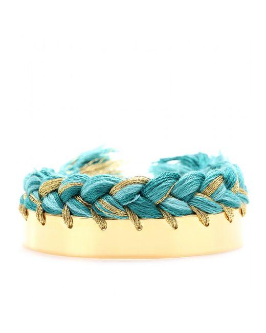 Aurelie Bidermann | Metallic Brasil Chain Plait Bracelet | Lyst