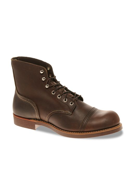Red Wing | Red 'iron Ranger' 6 Inch Boot for Men | Lyst