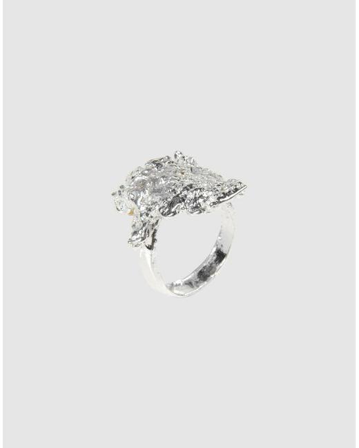 Estelle Dévé | Metallic Ring | Lyst