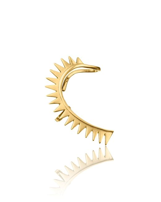 Annelise Michelson | Metallic Gold Plated Carnivorous Ear Cuff | Lyst