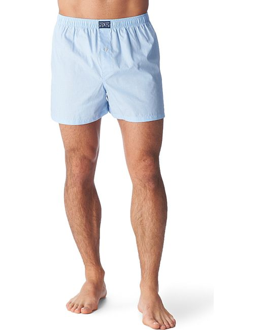 Polo Ralph Lauren | Blue Pinpoint Oxford Boxers for Men | Lyst