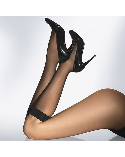Wolford | Black Individual 10 Knee-highs | Lyst