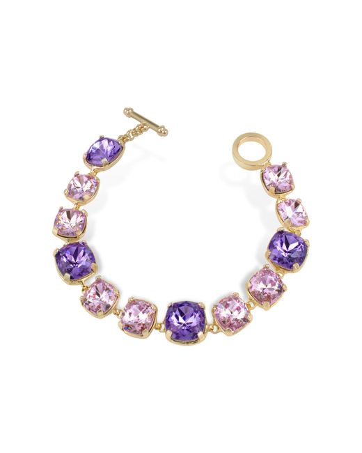 AZ Collection | Metallic Amethyst Crystal Bracelet | Lyst