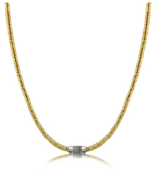 Orlando Orlandini | Metallic Capriccio - Diamond 18k Gold Chain Snake Necklace | Lyst