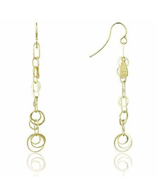 Orlando Orlandini | Metallic Star - 18k Gold Yellow Circles Earrings | Lyst