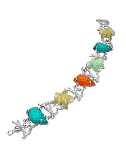 Tagliamonte | Marina Collection - Multicolor 18k Gold Bracelet | Lyst